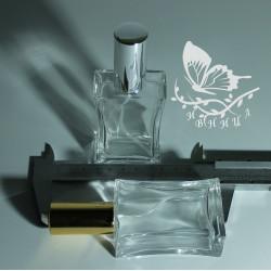 Флаконы 30 мл стекло спрей люкс золото и серебро