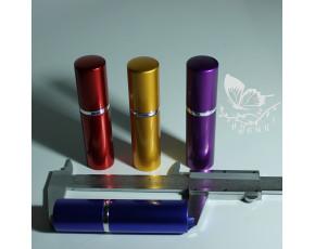 Флаконы атомайзер металл цветной спрей 10 мл